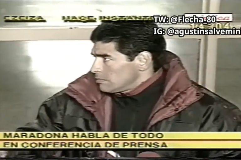 El video de Diego Maradona que se volvió viral tras las declaraciones de los jugadores de Boca