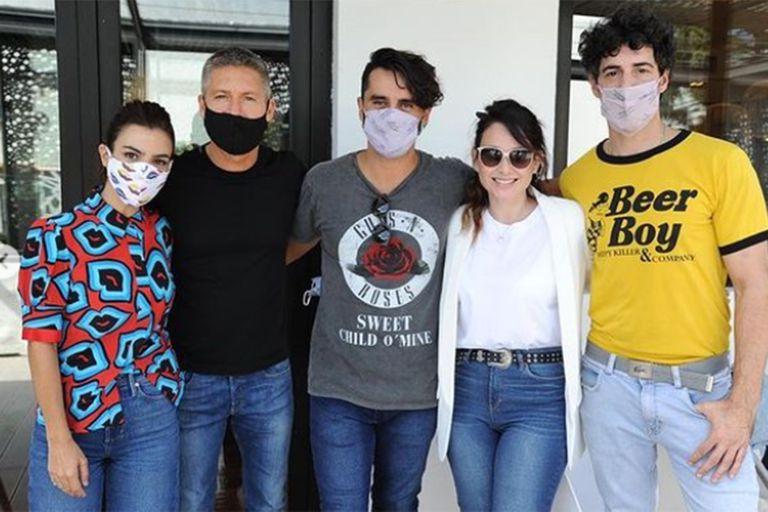 Besos en pandemia: Cherri, Heredia y Lamothe hablaron de la nueva tira de Polka