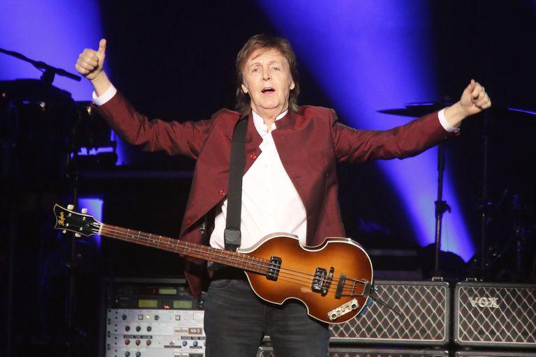 Paul McCartney se presentará mañana en el Campo Argentino de Polo