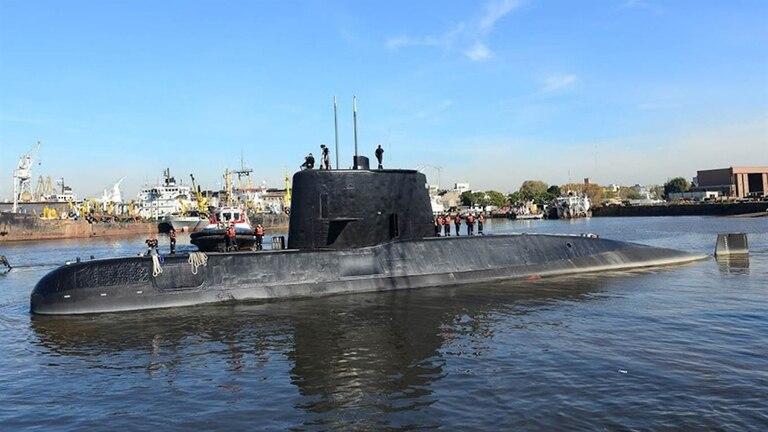 Continúa la búsqueda del submarino ARA San Juan