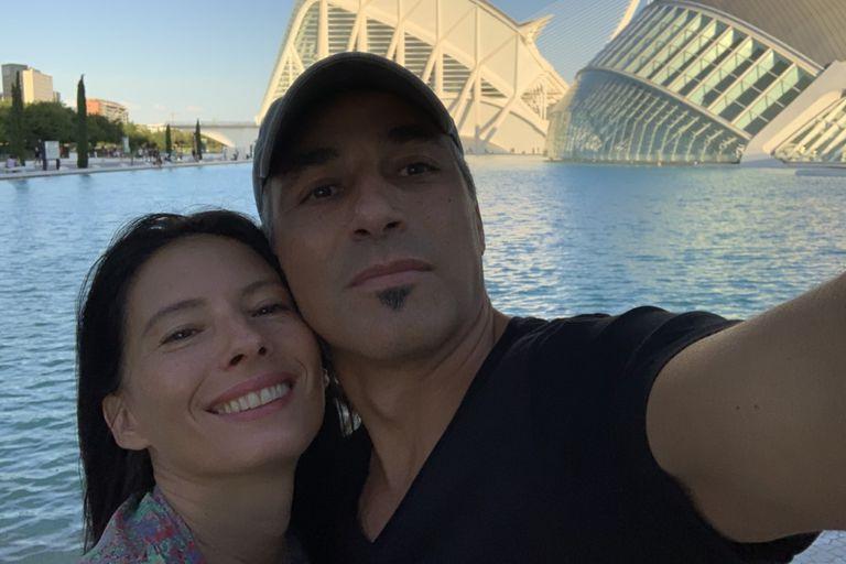 Adarvez conoció a su mujer, Verónica, cuando trabajaba en el Shopping Sur de Avellaneda