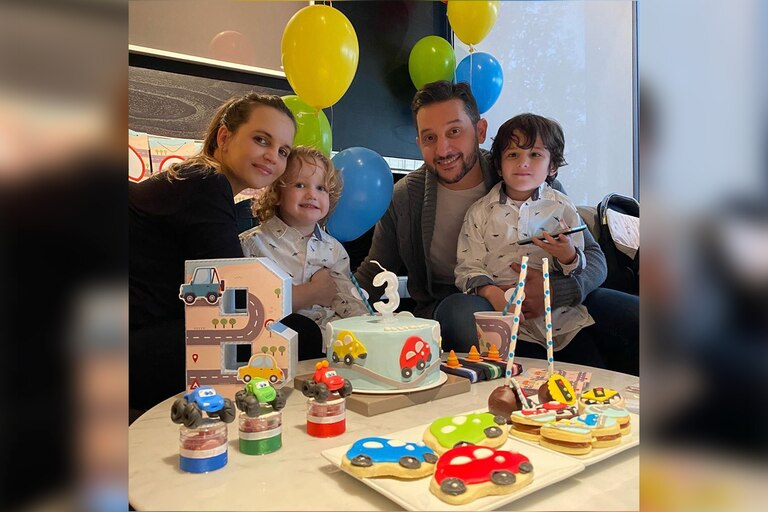 Beltrán, el hijo de Sabrina Garciarena y Germán Paoloski, cumplió 3 años