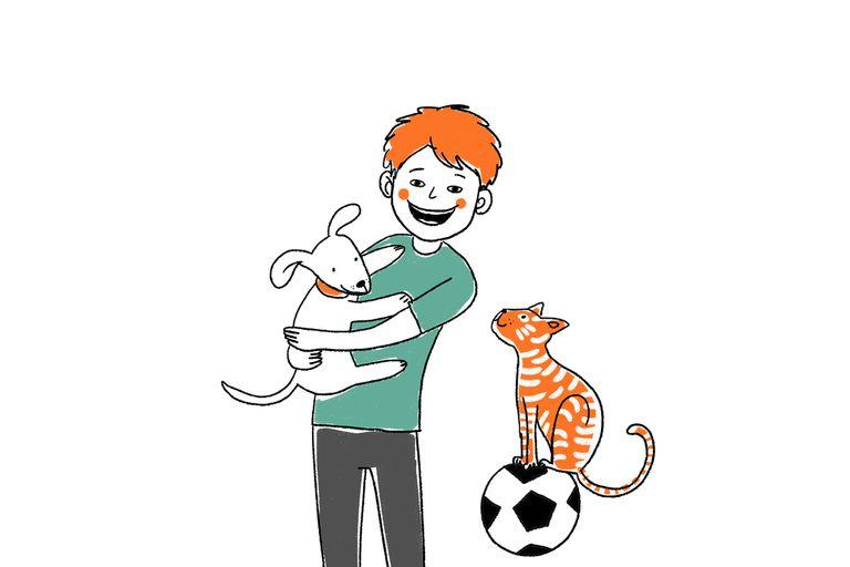 Ama los animales, desde los 4 años vive en un hogar y sueña con encontrar una familia