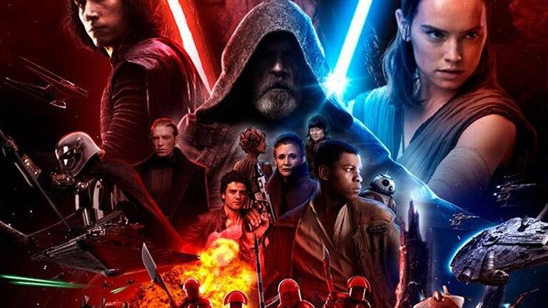 El poster de Los últimos Jedi