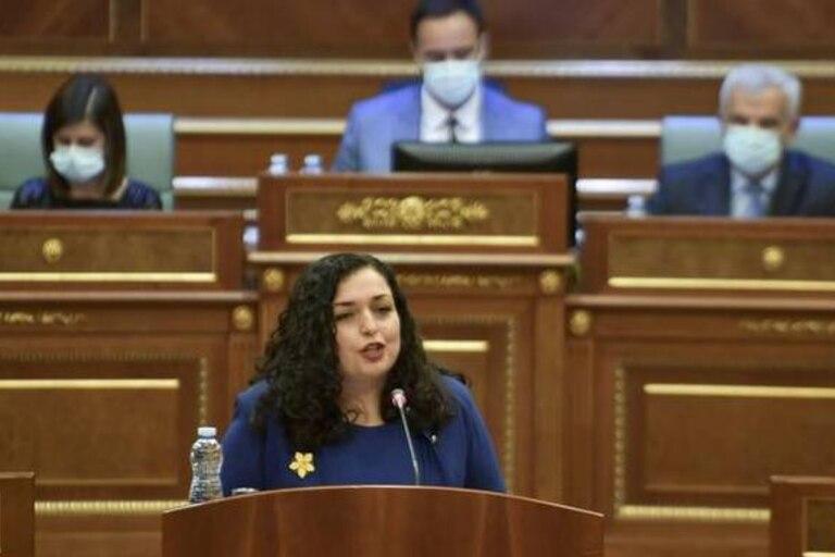Vjosa Osmani Sadriu, presidenta de Kosovo