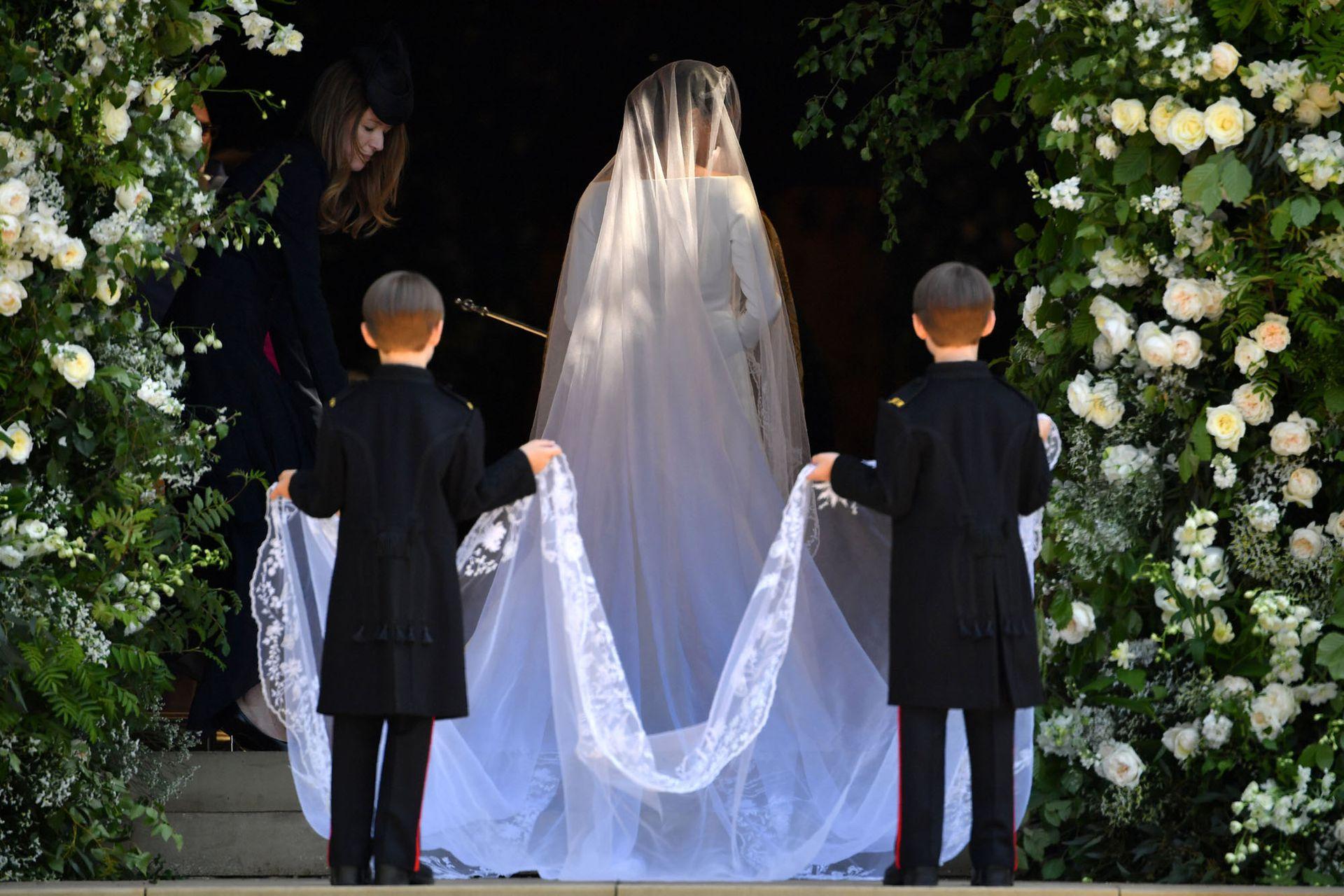 Entrada de la novia a la capilla