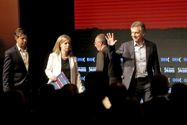Mauricio Macri cerró ayer el encuentro con los empresarios y destinó críticas al kirchnerismo