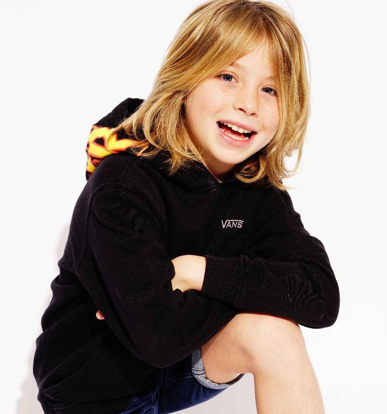 """Axel Llunas tiene tan solo 12 años, y al igual que su hermano, se prepara para debutar ante las cámaras en """"Luis Miguel, la serie"""""""