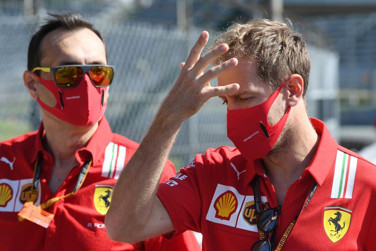 Fórmula 1 en Monza: el noble gesto de Vettel en otro día desastroso para Ferrari