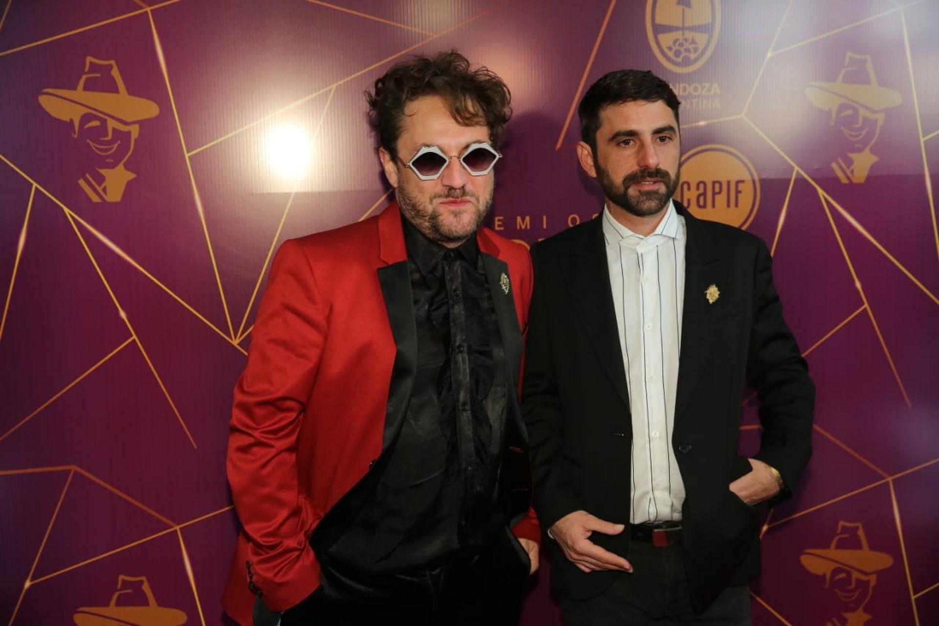 Mauro Conforti en los Premios Gardel