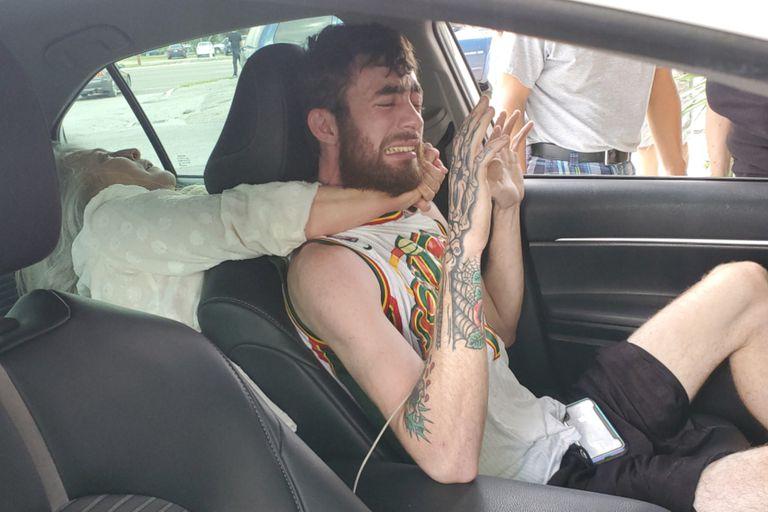 Un conductor de Uber sufrió una agresión feroz por parte de una pasajera