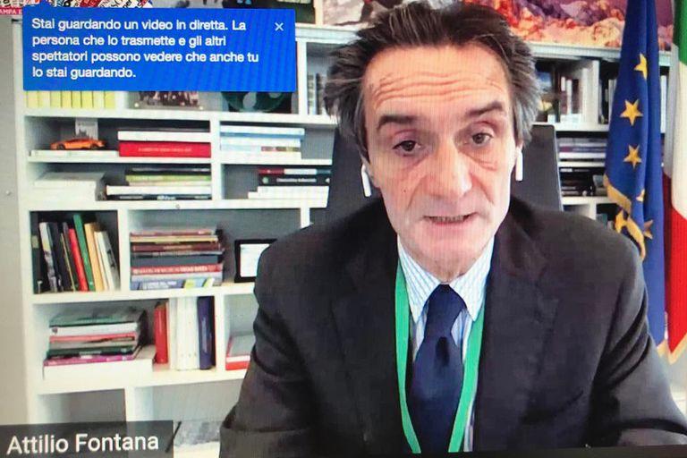 """Coronavirus: """"El terror mayor es que las medidas no resulten eficaces"""", advirtió el gobernador de Lombardía"""