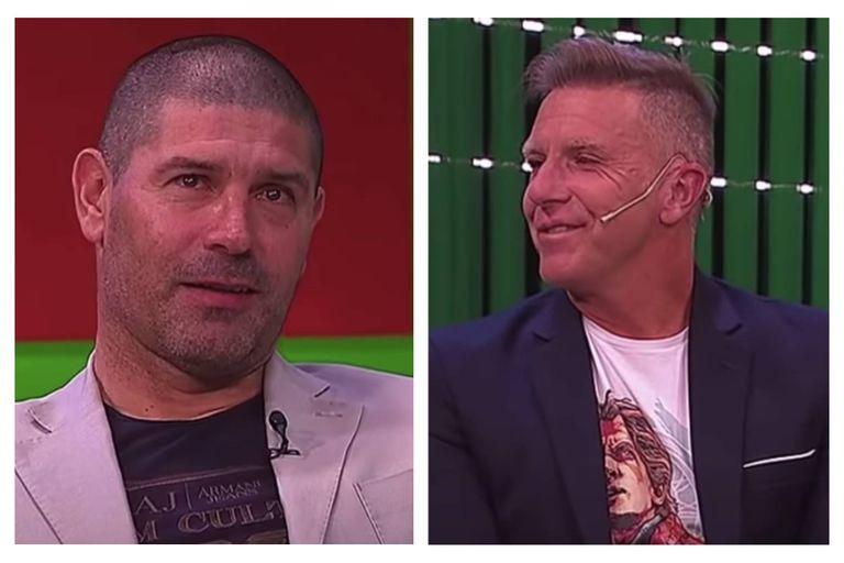 El Pampa Sosa emocionó a Fantino con sus relatos sobre el Napoli y Maradona