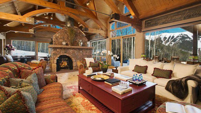 La casa es un lugar ideal para visitar en el invierno