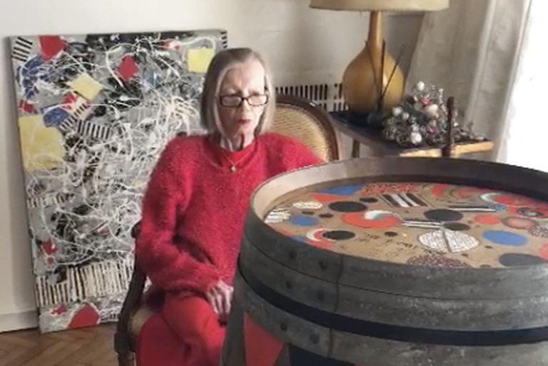 Ides Kihlen, imparable a los 104 años, sigue creando