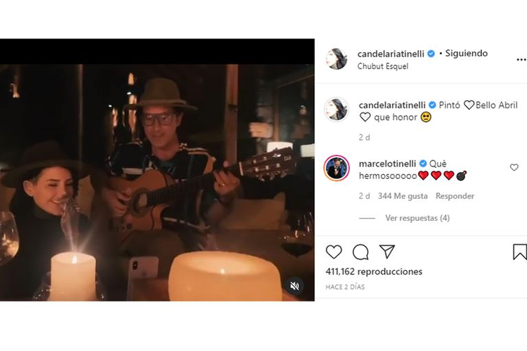 """Marcelo Tinelli le dio """"el visto bueno"""" públicamente a la relación amorosa de Candelaria con Coti Sorokin"""