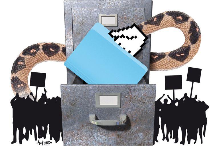 El robo de datos en la campaña