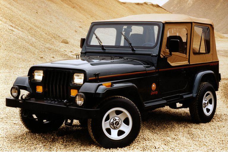 Jeep Wrangler (YJ) de 1987: vendió 630.000 unidades