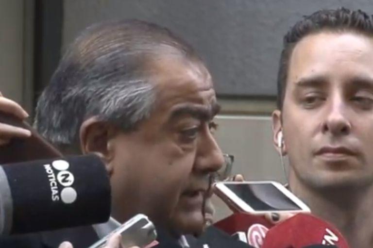 El referente de la CGT Héctor Daer