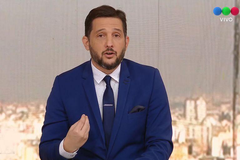 Germán Paolosky conduce El noticiero de la gente por la pantalla de Telefe