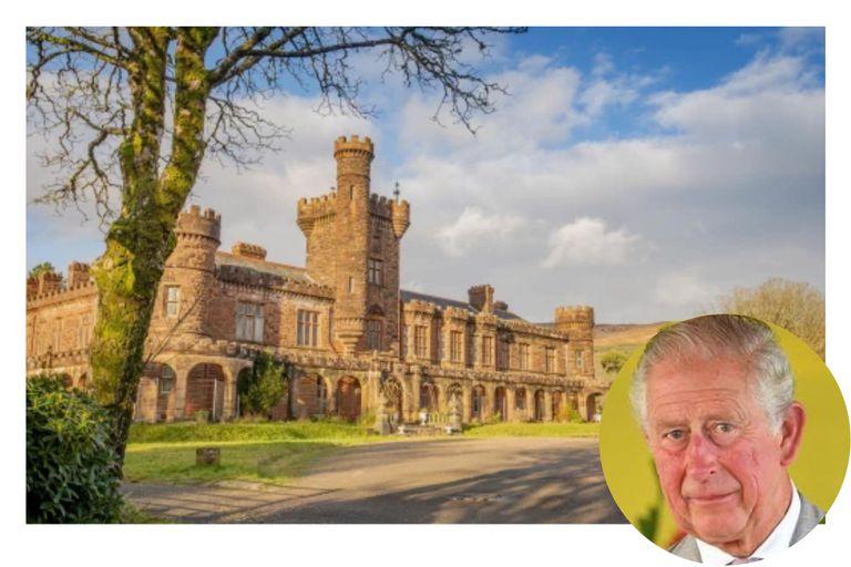 El castillo favorito del príncipe Carlos sale a la venta por menos de dos dólares