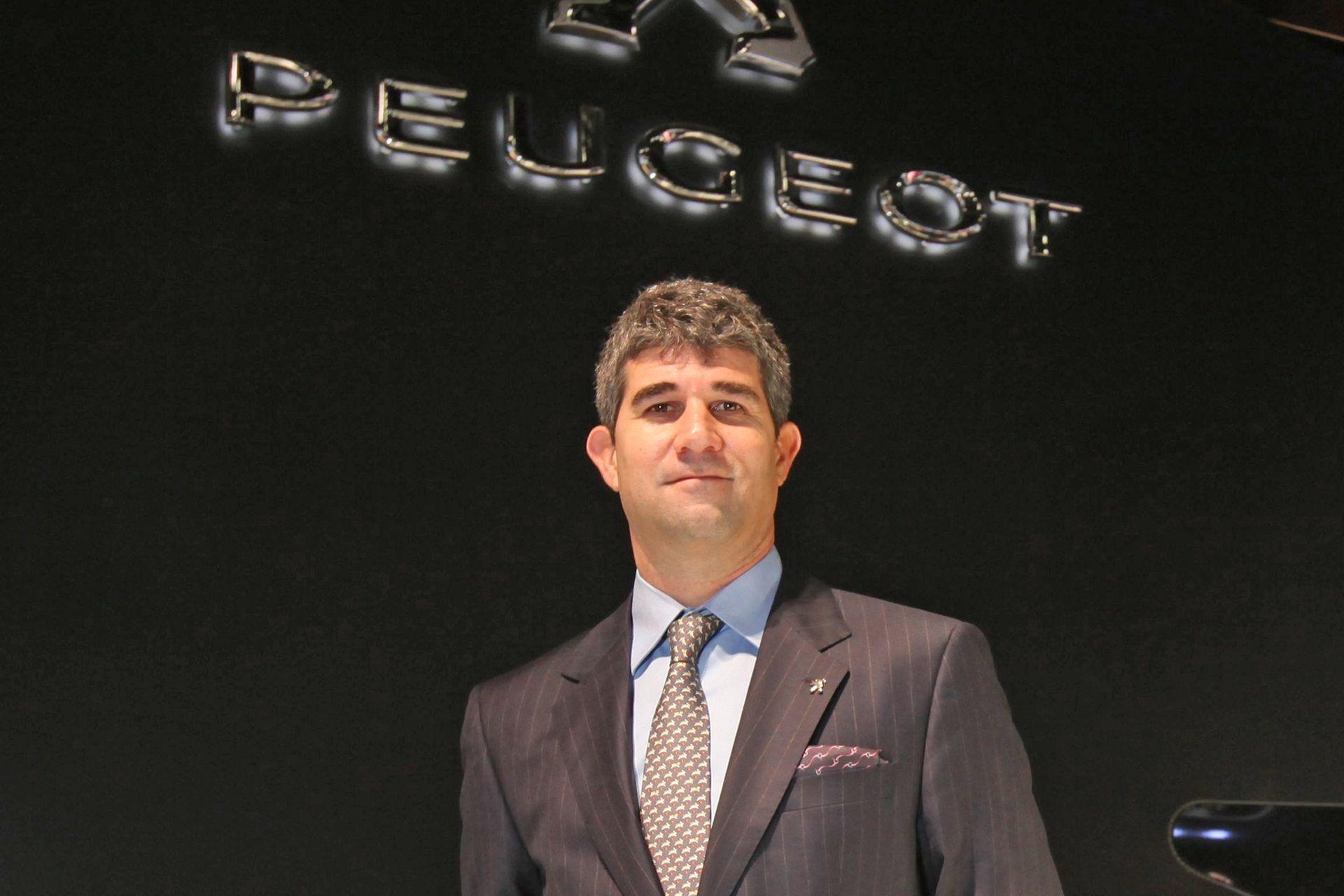 Gabriel Cordo Miranda, director general de Peugeot, Citroën y DS Argentina
