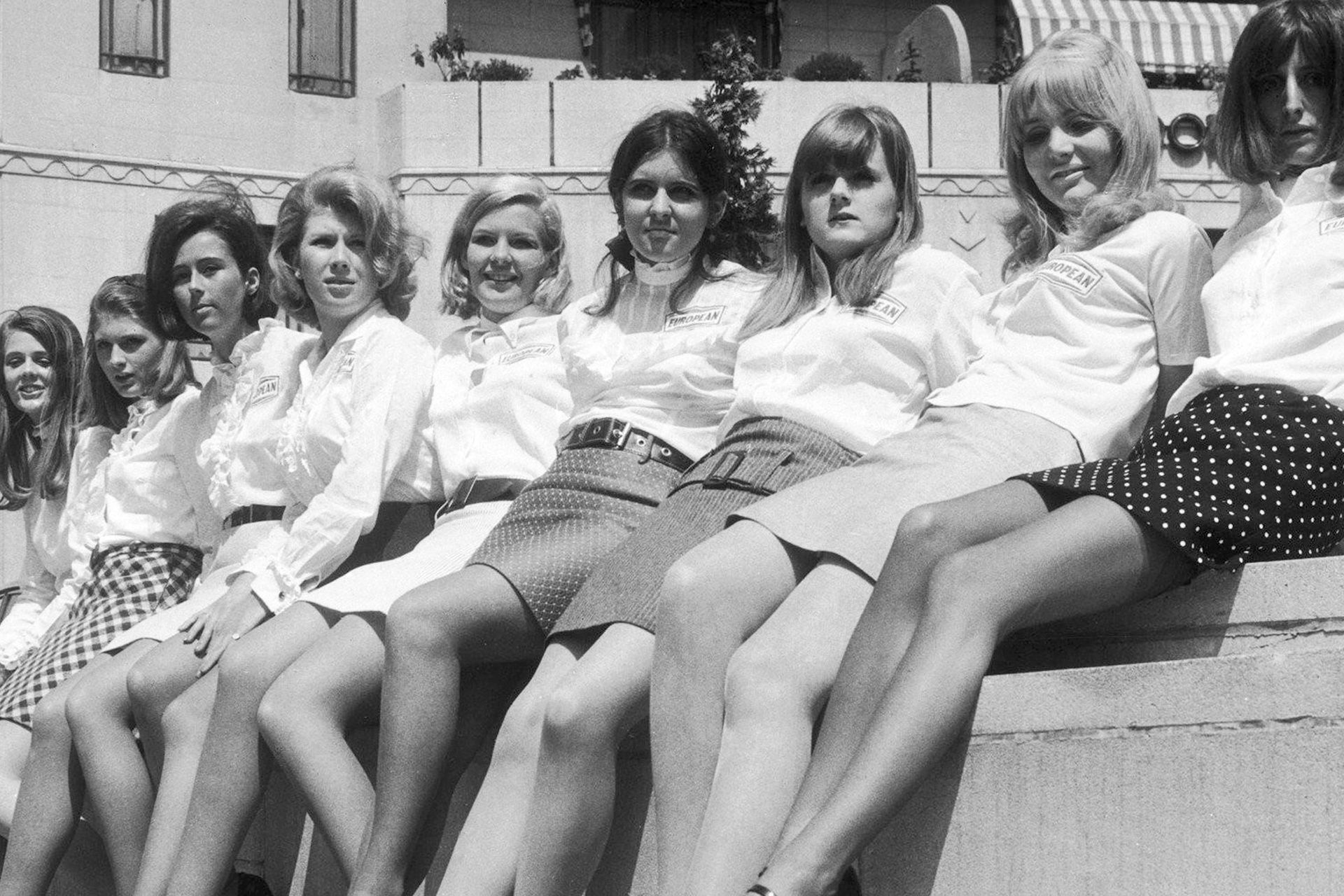 Con la juventud como sujeto privilegiado de la época, la minifalda era también un ícono y una bandera