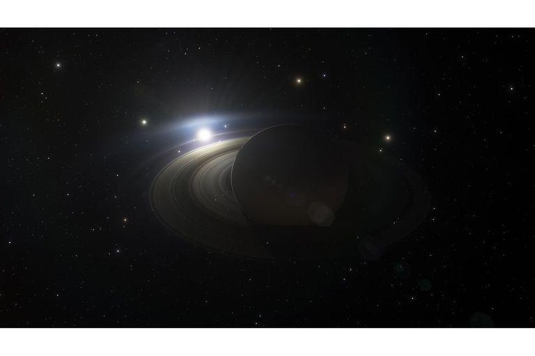 Una visión majestuosa de Saturno