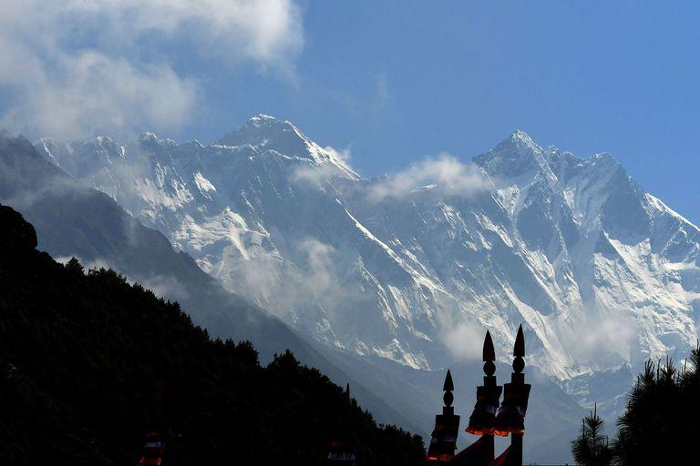 Las montañas del Himalaya, meta insuperable de los alpinistas de todo el mundo