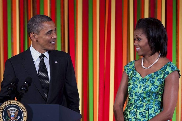 Barack Obama y Michelle Obama