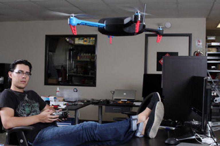 Jordi Muñoz Bardales, uno de los cofundadores del fabricante de drones 3D Robotics