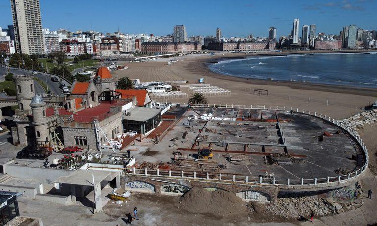 La restauración del Torreón del Monje es todo un síntoma de la recuperación del sector gastronómico y turístico en Mar del Plata después de las duras consecuencias económicas por la pandemia