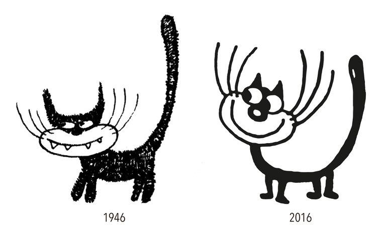 El felino, según pasan los años