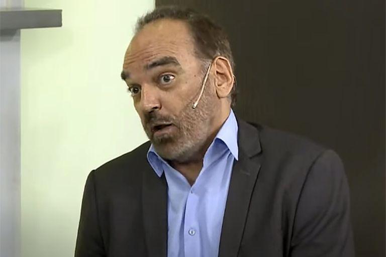 Fernando Iglesias negó la desaparición de Maldonado y el hermano le respondió con un exabrupto