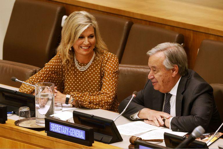 Naciones Unidas: el rol de la reina Máxima entre los líderes en Nueva York