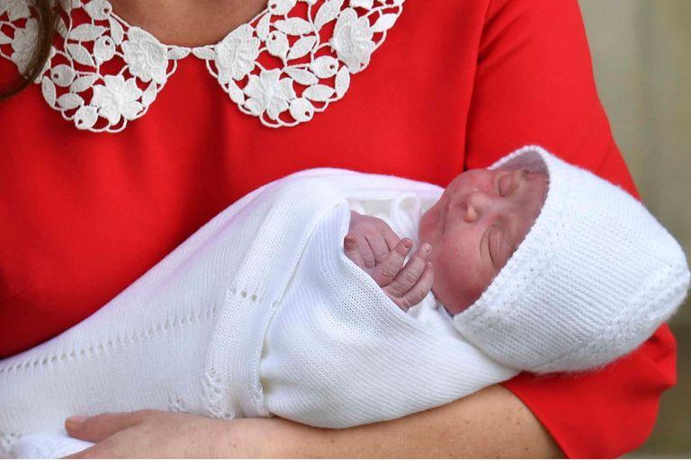 En fotos: nació el tercer hijo del príncipe William y Kate Middleton