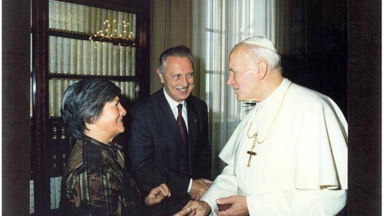 Lejeune era amigo personal del papa Juan Pablo II