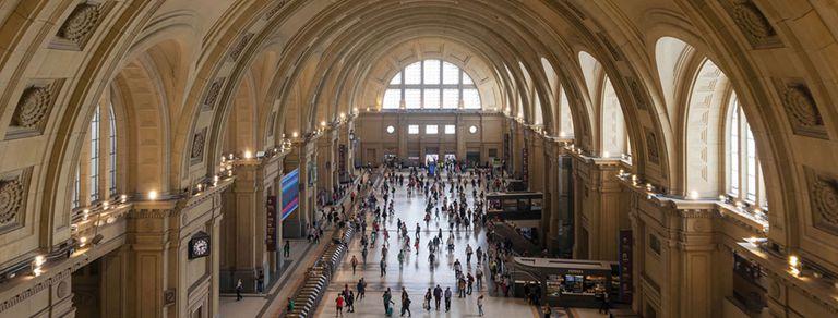 Constitución en fotos. Cómo quedó la estación restaurada