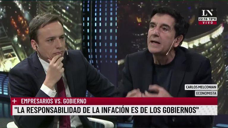 """Melconian sobre Guzmán: """"¿Con qué cara va a ir este muchacho a Washington?"""""""