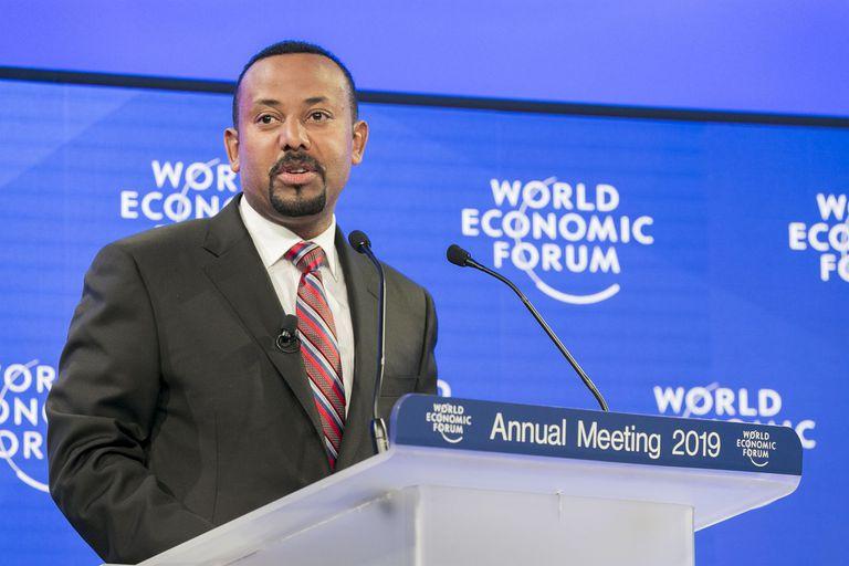 23-01-2019 El primer ministro de Etiopía, Abiy Ahmed POLITICA (C) WORLD ECONOMIC FORUM / BENEDIKT VON LOEBELL