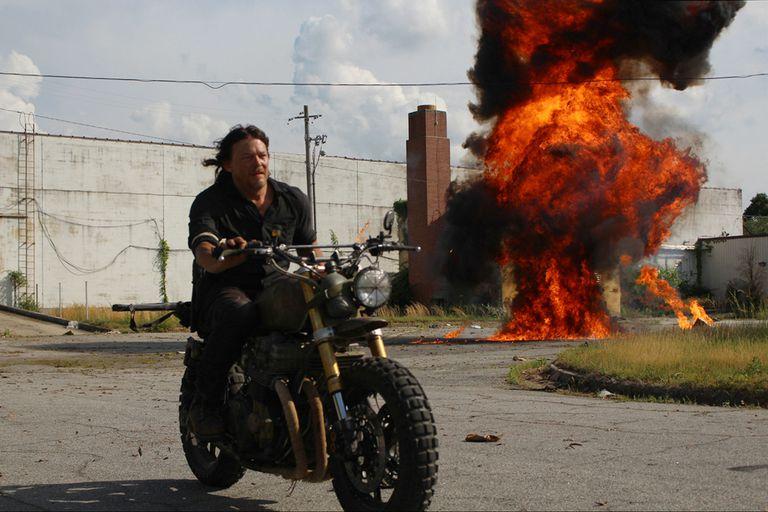 Norman Reedus como el duro de Daryl