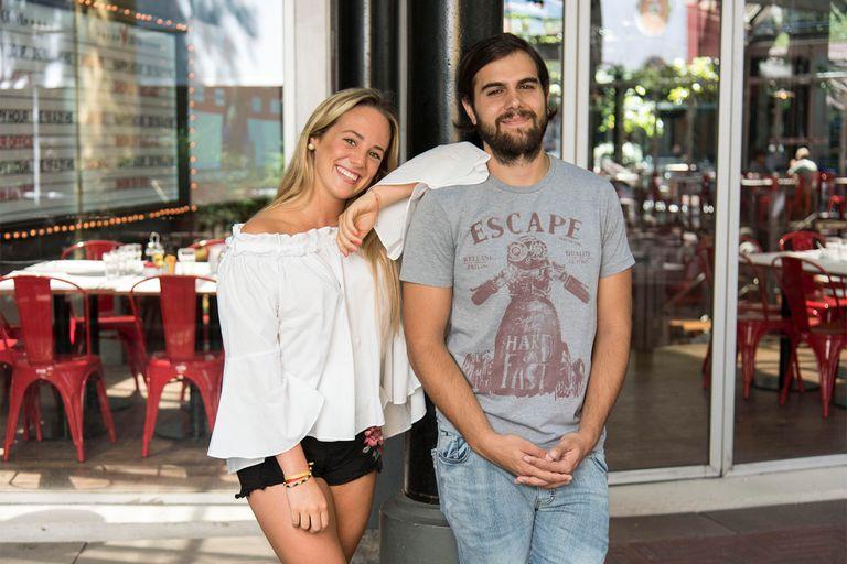 Herederos en acción: Thiago Batistuta y Micaela Lapegüe