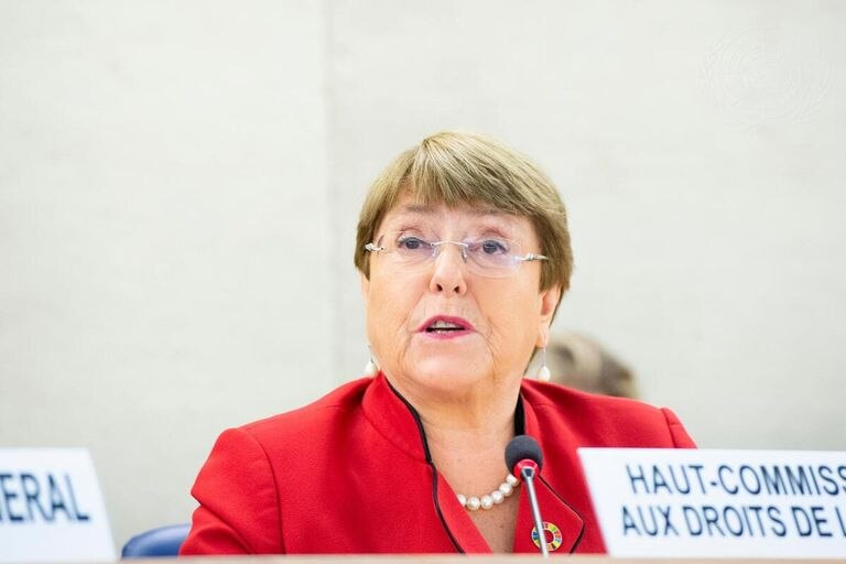 24-02-2020 Michelle Bachelet, United Nation High Commissioner for Human Rights, addresses the opening of the forty-third regular session of the Human Rights Council. POLITICA ESPAÑA EUROPA CANTABRIA VIOLAINE MARTIN