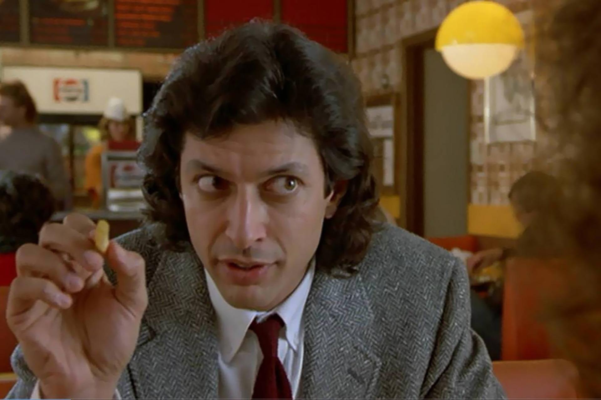 La interpretación de Goldblum es fundamental para sostener la intensidad del relato, que conmueve tres décadas después como a su estreno, en 1986
