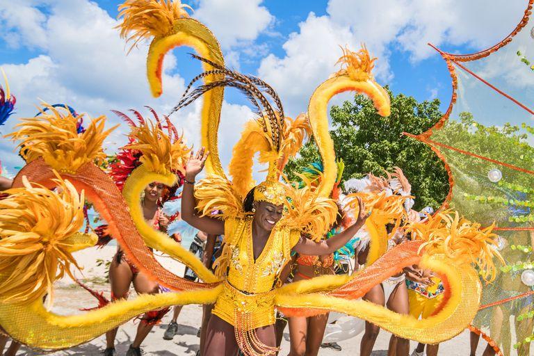 El festival Crop Over, que empieza en junio, marca el fin de la temporada de la caña de azúcar