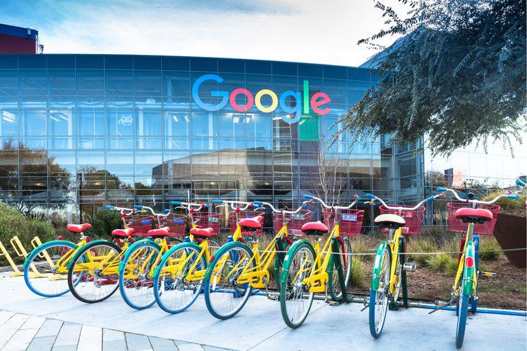 Uno de los edificios del campus de Google