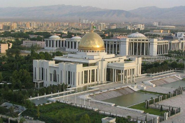 Ashgabat, la capital de Turkmenistán