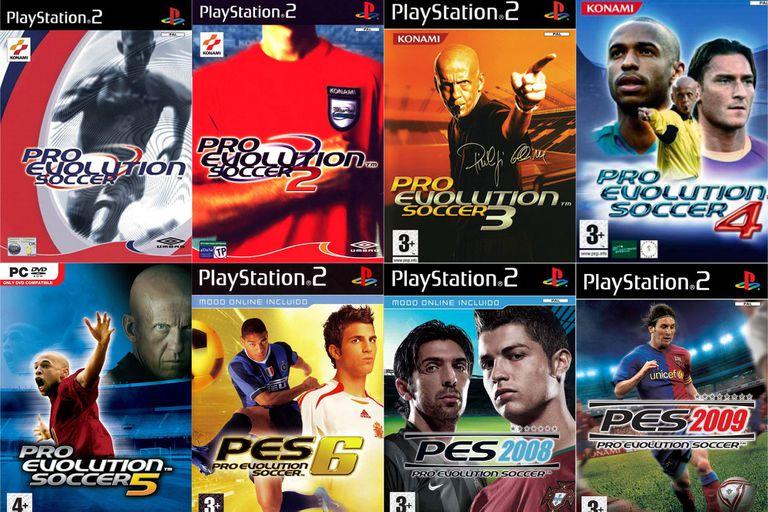 Del primer Pro Evolution Soccer al PES 2009