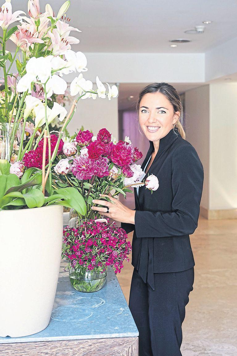 Florerías: Julieta (Salguero y Libertador), Alma (Blumme Casa Cavia), Camila (Florería Atlántico) y Martina (La Florería del Duhau)
