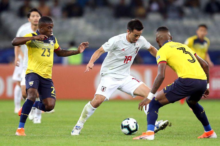 Copa América. El 1-1 entre Ecuador y Japón castigó a los dos con la eliminación